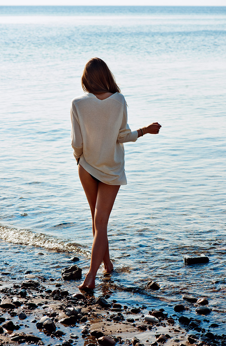 Lone Praesto in Cover June/July 2014 (photography: Rasmus Skousen, styling: Emelie Johansson) via fashioned by love british fashion blog