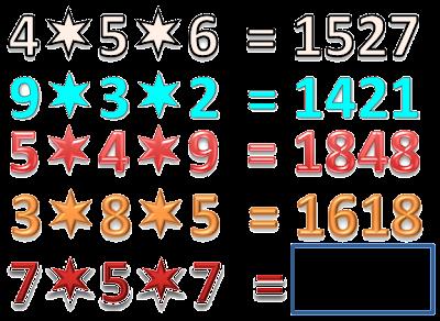 Reto Matemático, Desafío matemático, Reto para pensar, Operación diferente, Día de la Secretaria