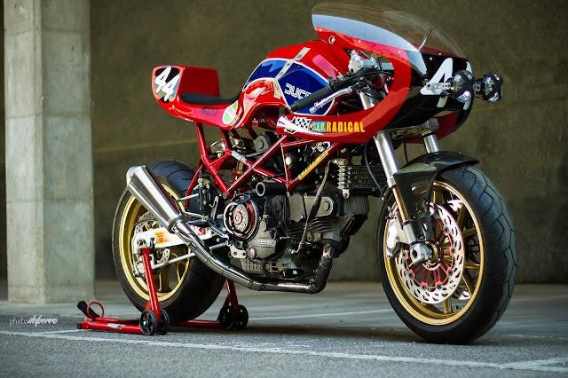 Radical Ducati S.L. Endurance 2013 | Ducati Monster 900 | Radical Ducati | Custom Ducati | Radical Ducati Monster M900 | way2speed.com