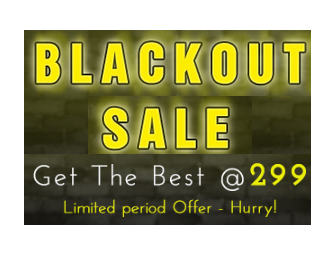 Printvenue: Buy Black Out Sale : Buy All Personalized Products @ Rs. 299