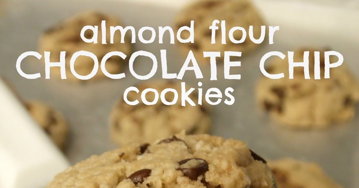 Chocolate Chip Cookies Almond Flour Maple Syrup