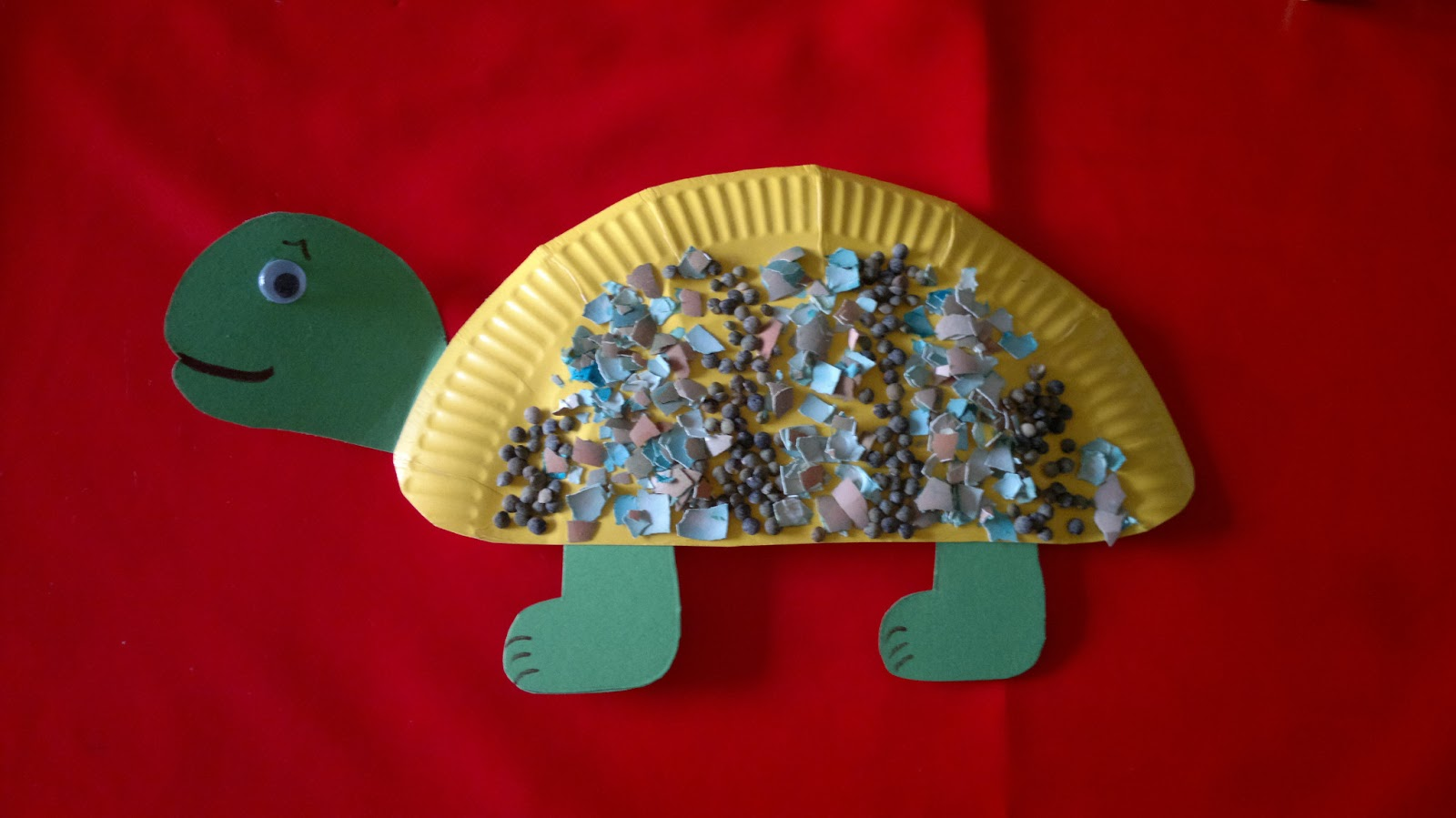 Paper Plate Turtle Craft & Le Baby Bakery: Paper Plate Turtle Craft