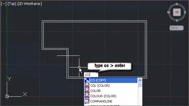 AutoCAD Copy Command