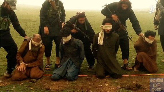 ISIS fighters execute 10 prisoners accused of 'apostasy in Afghanistan