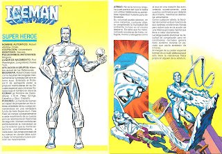 Iceman Marvel Superheroes