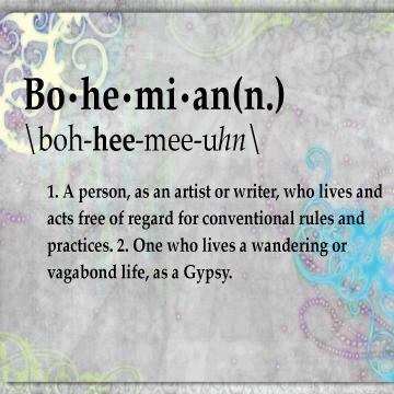 Bohemian life...