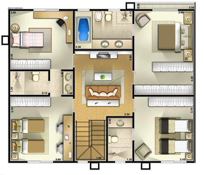 Casas pequenas plantas de casas modelos de casas - Casas on line ...