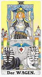 Значение на Таро карта VII Колесницата - хороскоп за 2015 година