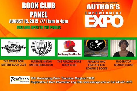 Book Clubs at 6th Annual African American Author's & Empowerment Expo!
