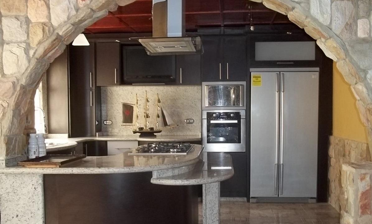 Casas americanas cocinas for Modelos de cocinas modernas americanas