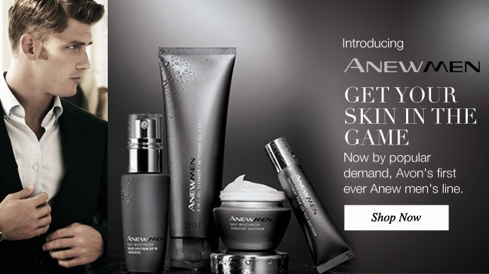 Avon Men's Anew Skincare Line!