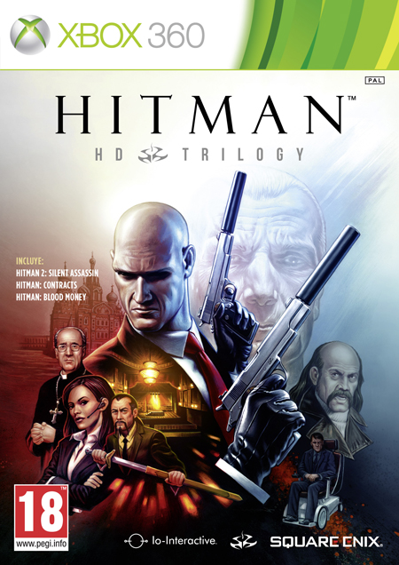 Hitman: HD Trilogy - Portada XBOX 360