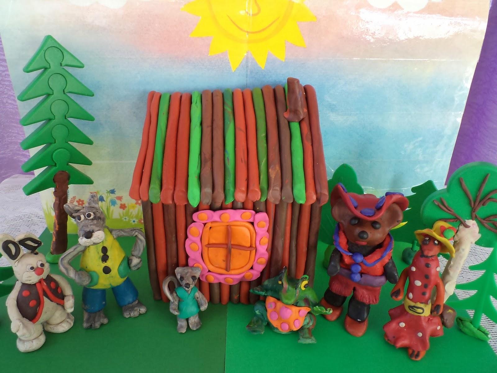 Поделка по пушкину в детский сад