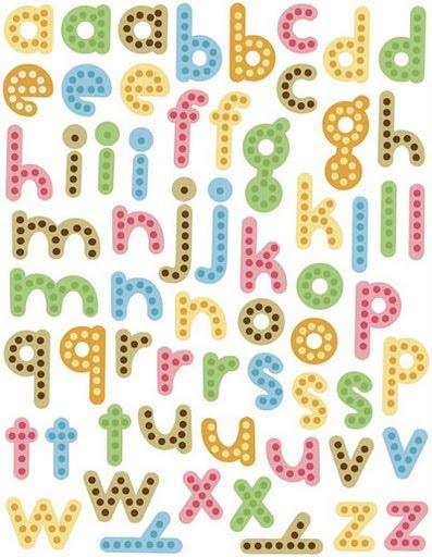 Abecedario con letras para recortar - Literas divertidas para ninos ...