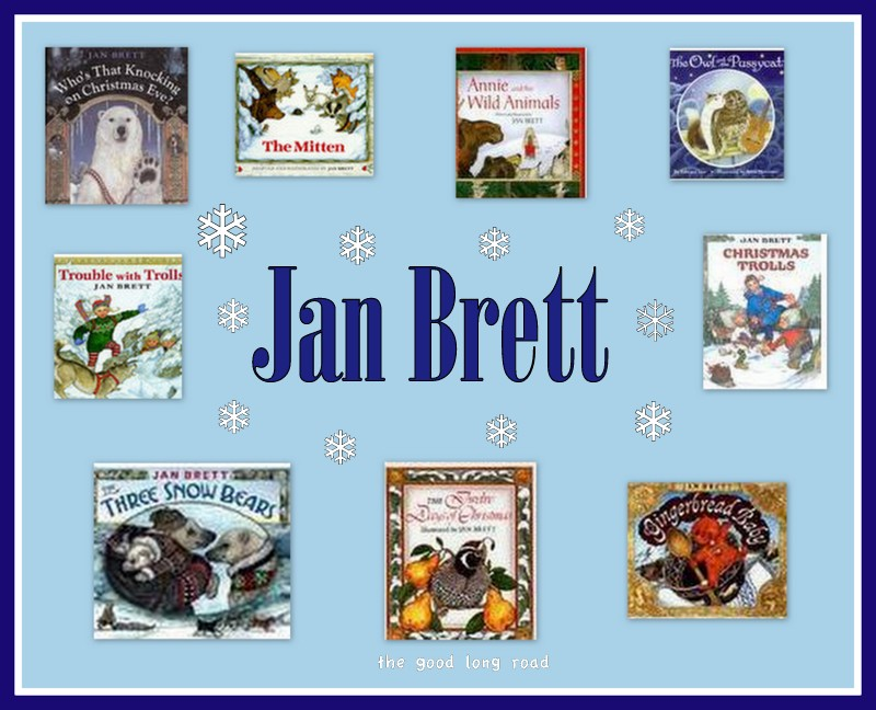 Virtual Book Club for Kids} Discovering a New Author: Jan Brett