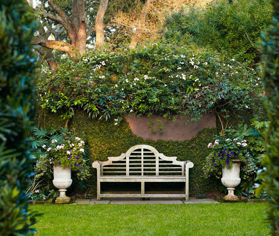 Lunch Latte Garden design an Old South charm in Charleston