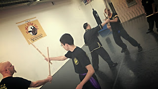 short stick techniques