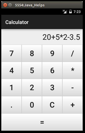 Самый ппостой калькулятор андроид