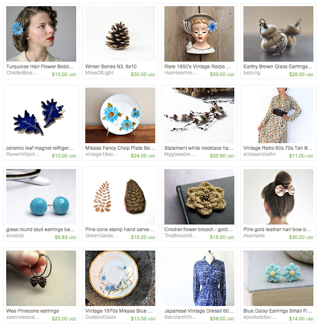 Turquoise Gift Guide #turquoise #vintage #winter #gifts