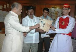 1st World Sparrow Day - India Celebration 2011 Raj Bhavan, Mumbai