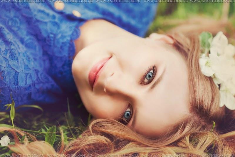 очень красивый портрет девушки