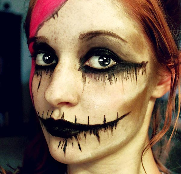 Beautiful Women Eve: Halloween face paint ideas and how to - Best Halloween Face Painting Ideas