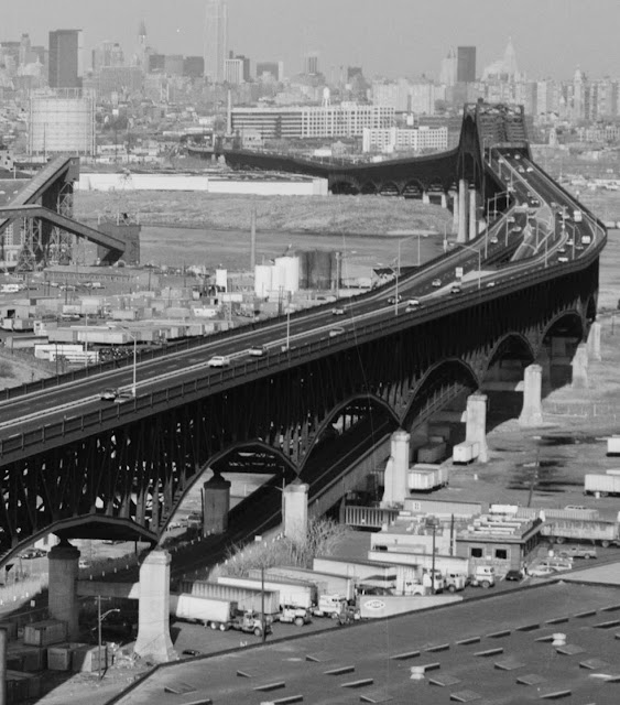 Library of Congress Photo Taken of the Pulaski Skyway in 1978