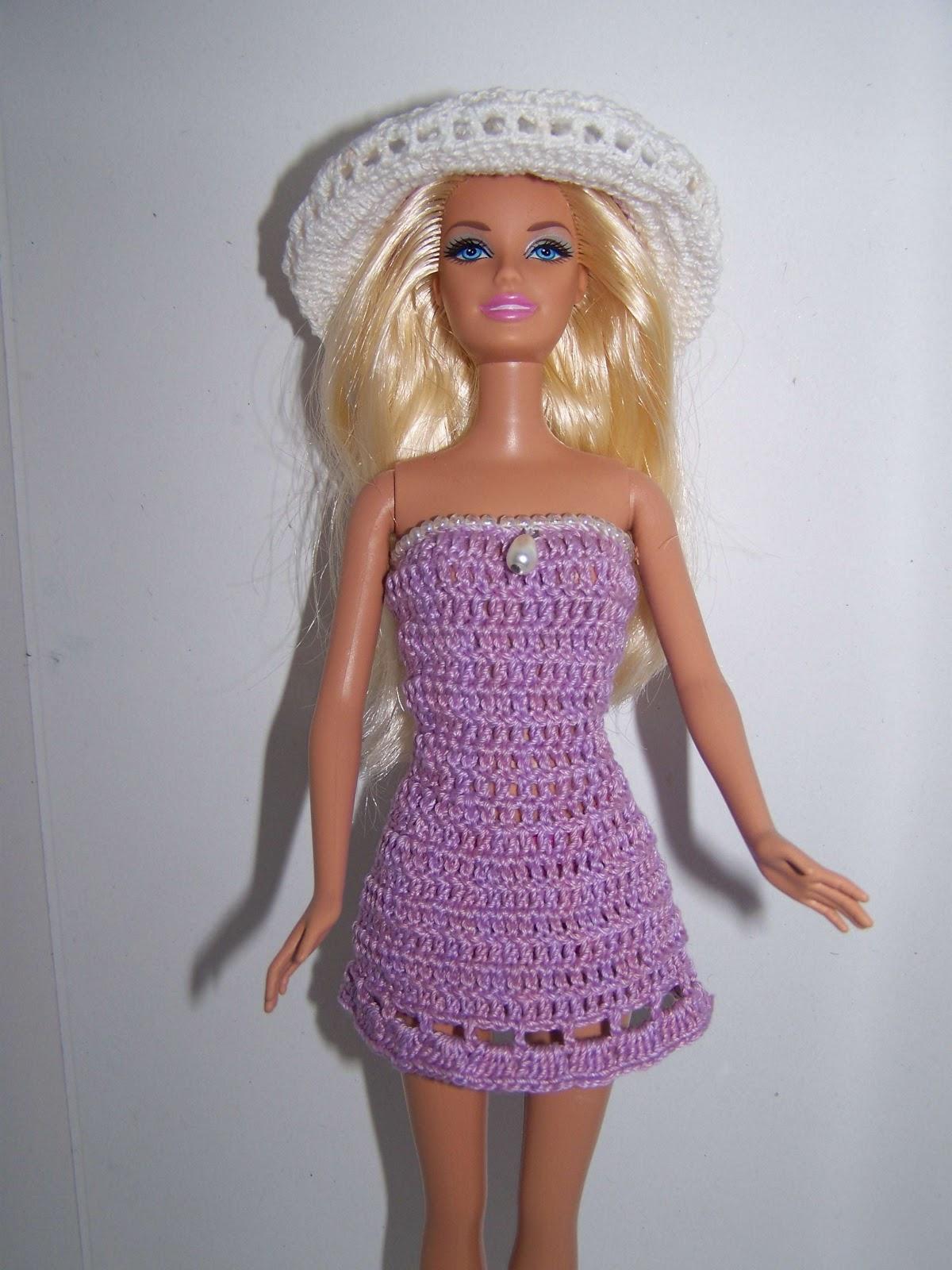 Связать юбочку для куклы