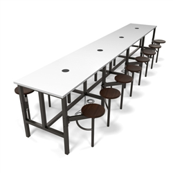OFM Endure 16 Seat Table with Power