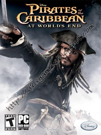 Free Download Games - Pirates Of Caribbean At Worlds End