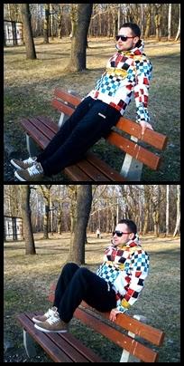 brzuszki w parku