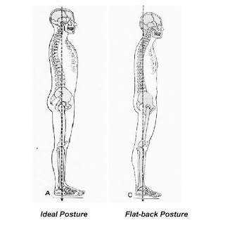 exercise and posture  flat