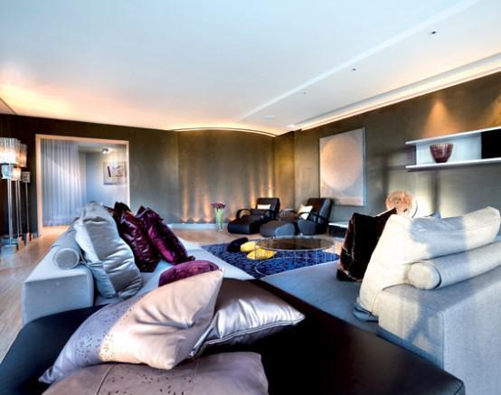 Arteluxblog madame hollywood for Modern glamour interior design