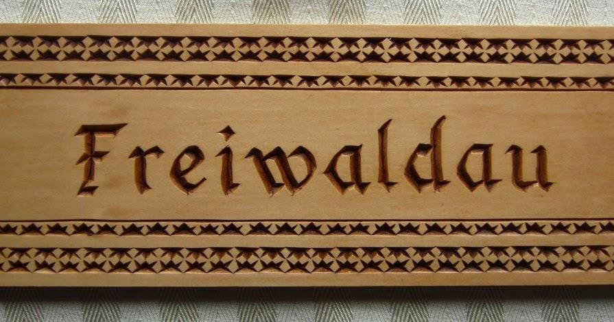 Ales the woodcarver freiwaldau chip carving