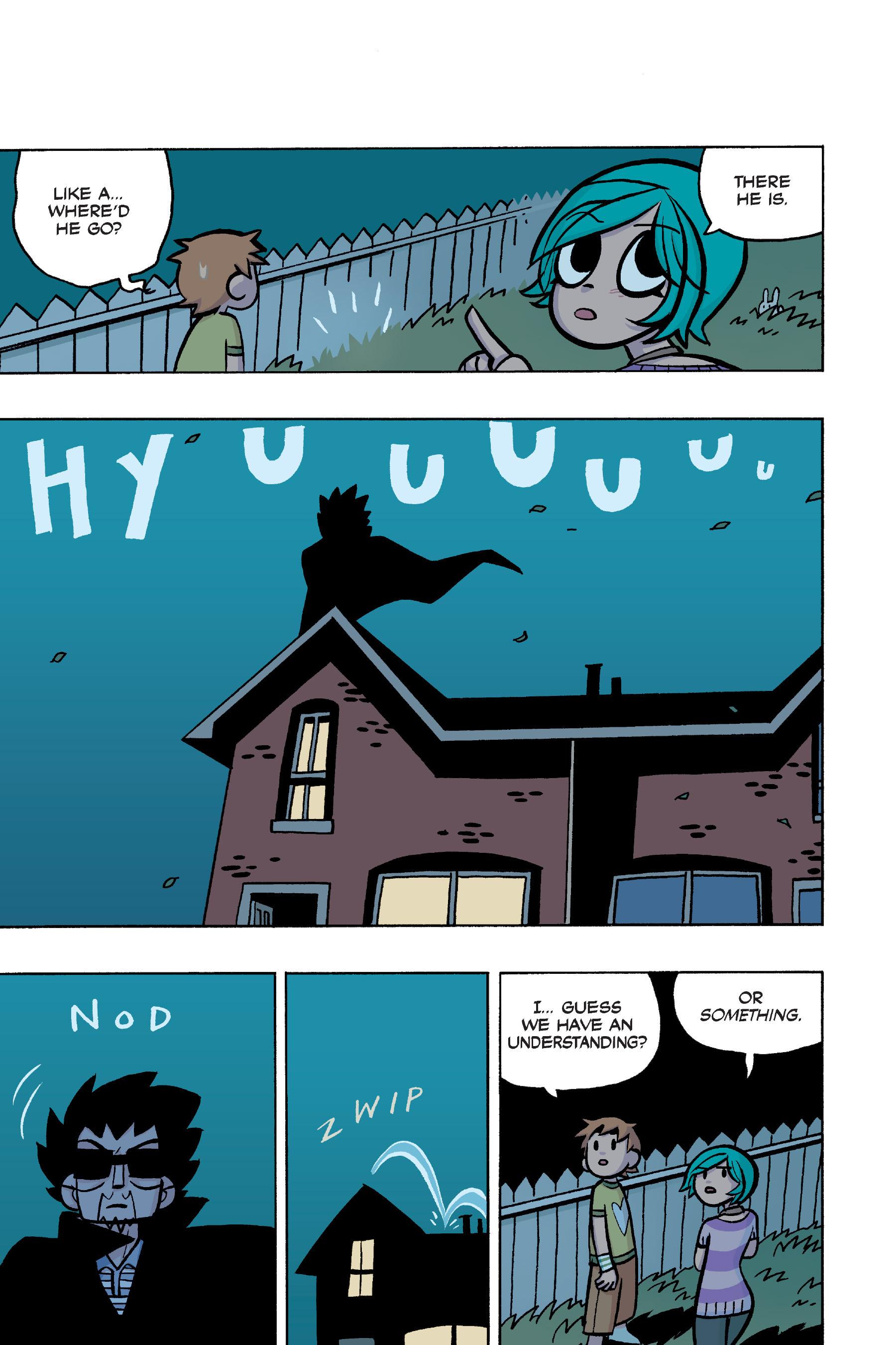 Read online Scott Pilgrim comic -  Issue #4 - 192