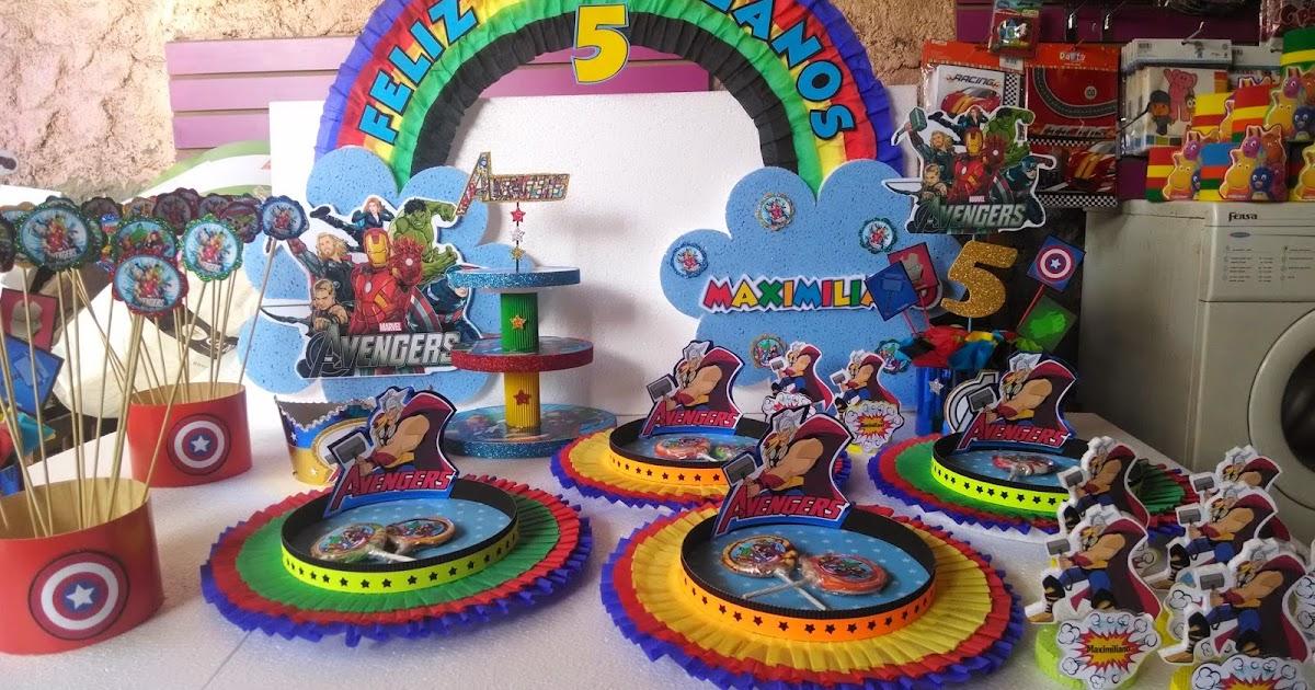 Decoraciones infantiles avengers - Motivos infantiles para decorar ...