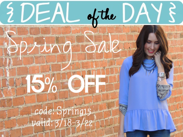 Deal of the Day: Last Day for Daisy Rae's Spring Sale! — A Modern Mrs.