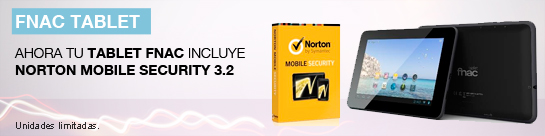 Tablet Fnac + Antivirus Norton Gratis