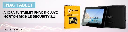 Tablet Fnac + Antivirus Norton Gratis