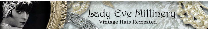 Lady Eve Millinery Etsy banner