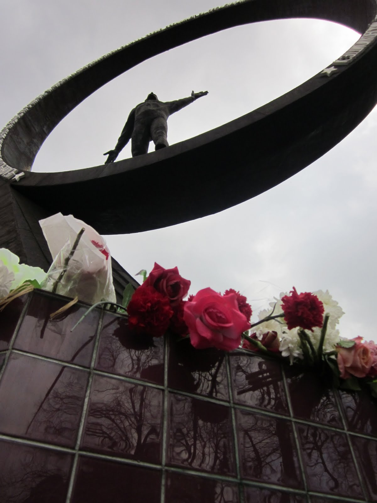 Soviet memorial dedicated to cosmonauts from kaliningrad - One Of The Three Cosmonauts Who Used To Live In Kaliningrad