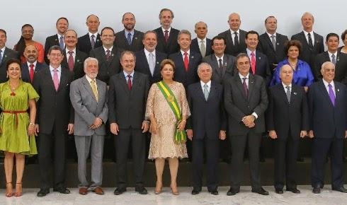 TODOS OS MINISTROS DA PRESIDENTA DILMA EM 2015
