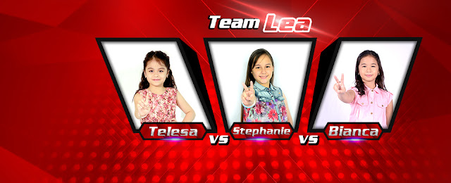 Team Lea the voice kids Esang