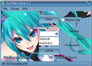Inject Indosat Miku Multi v.2