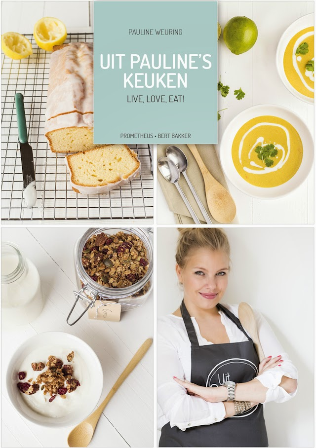 Cover kookboek Uit Pauline's keuken