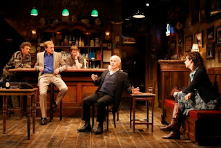 John Keating, Sean Gormley, Billy Carter, Dan Butler and Tessa Klein in 'The Weir.'