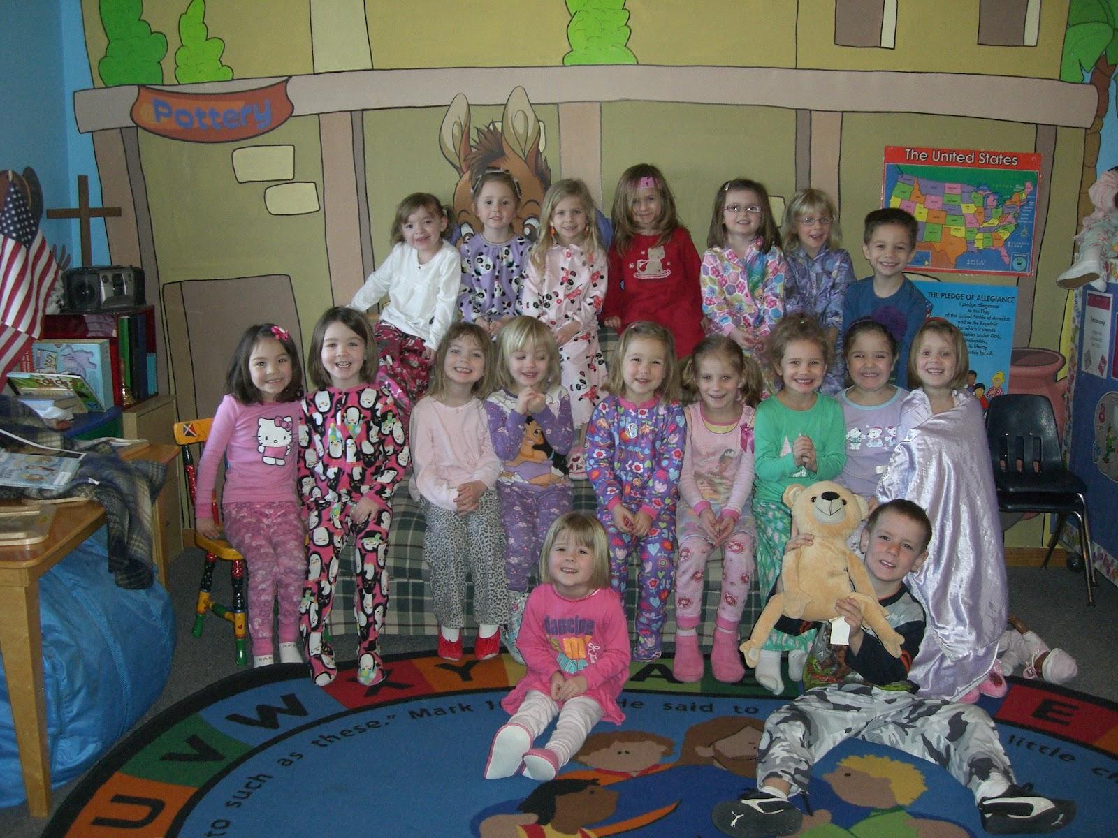 country days preschool pajama day at preschool www pixshark images 901
