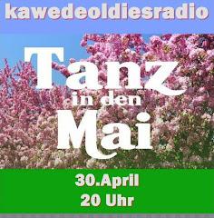 Programmhinweis kawedeoldiesradio 30.4.2017