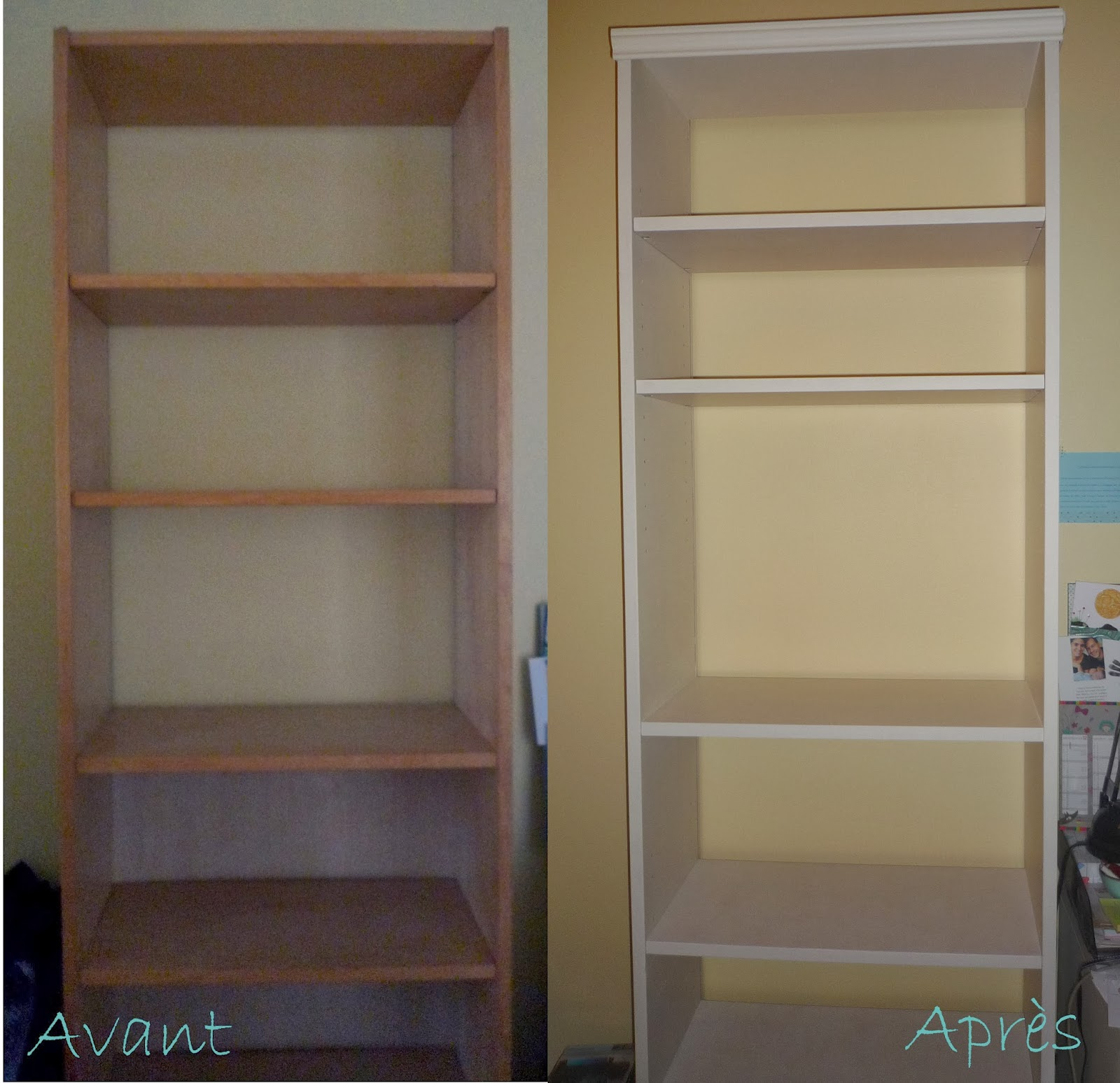 relooker une biblioth que billy ikea foyer doux foyer home sweet home. Black Bedroom Furniture Sets. Home Design Ideas
