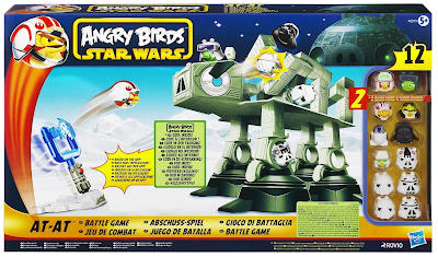 ANGRY BIRDS STAR WARS AT-AT ATTACK BATTLE GAME Review and Reader Giveaway